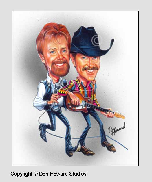 Brooks and Dunn Poster
