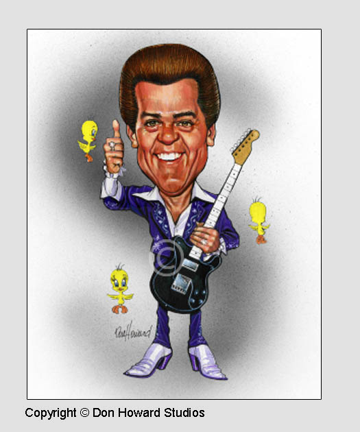 Conway Twitty Art Poster