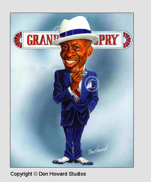 DeFord Bailey Poster