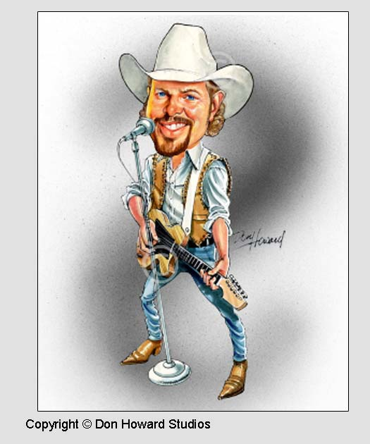 Toby Keith Print
